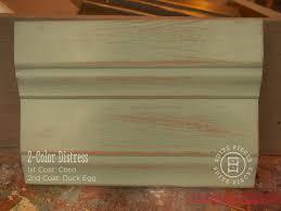 chalk paint cabinets distressed 2 color distress with chalk paint suite pieces