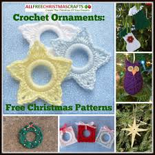 crochet ornaments 27 free patterns