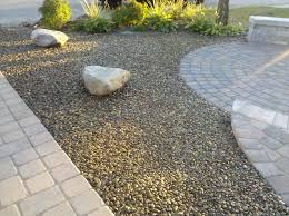 Gravel Backyard Ideas Gravel Landscaping Design Home Ideas Pictures Homecolors