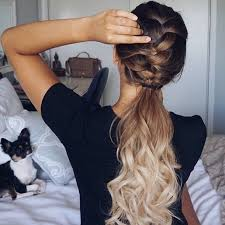 barrel curl ponytaol happy weekend nume loves spice up your daily ponytail with a sleek