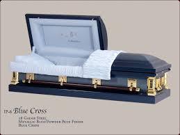 blue casket ip 6 blue cross m solomon casket company