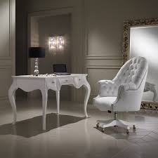 White Leather Desk Chair Luxury Office Chairs Richfielduniversity Us