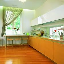 modern kitchen paint colors ideas charming colorful kitchen design with brown and green color nuance