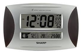 amazon com ashton sutton spc1005wg sharp atomic weather wall