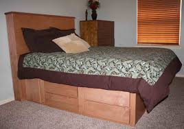 hand crafted gun bed with hidden compartment by wwbeds custom