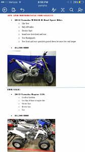 yamaha raptor 350 motorcycles for sale