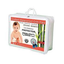 Waterproof Crib Mattress Protector Ultra Soft Waterproof Crib Mattress Protector Pad From Bamboo