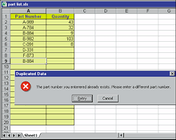 excel tips from john walkenbach using data validation to check