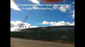 building the new apple headquarters a jogger u0027s perspective 2013