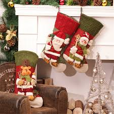 large creative christmas stocking chrismas decorations for home