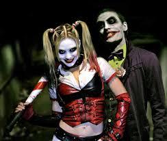 Joker And Harley Quinn Halloween Costumes by Joker U0026 Harley Quinn Vs Deadpool U0026 Domino Super Power Beat Down