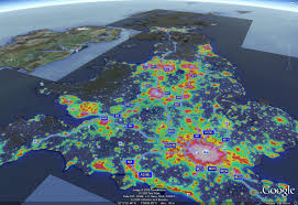 earth map uk uk light pollution map les dossiers avex