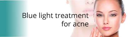blu light therapy for acne blue light acne treatment performed by professuonal cosmetic surgeon