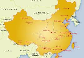 map of china china maps china tour