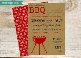 Couple S Shower Bbq Rustic Invite Couples Shower Or Cook Out The Homespun Hostess
