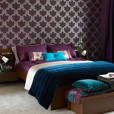 Bedroom Purple Wallpaper - latest wallpapers designs mesmerizing bedroom wallpaper designs