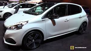 siege auto peugeot 2017 peugeot 208 gt line exterior and interior walkaround 2017