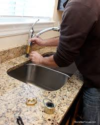 how to install kitchen faucet how to install a kitchen faucet how to nest for less