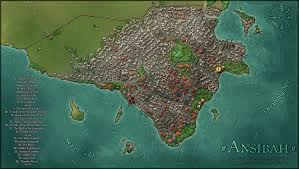 Walled Garden City Guilds by The City Of Ansibah By Tipexleloup On Deviantart I Love Maps
