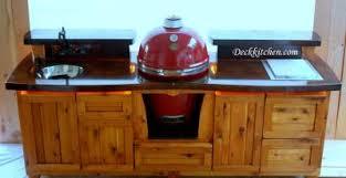 Green Egg Kitchen - custom outdoor kitchens u0026 big green egg cabinets outdoor kitchen