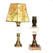 Vintage Brass Table Lamps Genuine Brass Table Lamps With Key Turn Switch 191909579243 With