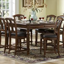 Counter Height Dining Room Sets English Manor Counter Height Dining Room Set Counter Height