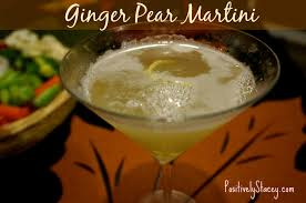 martini martinis ginger pear martinis positively stacey