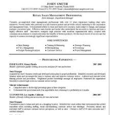 Retail Resume Objective Retail Sales Manager Resume Example 2 Apple Retail Resume S