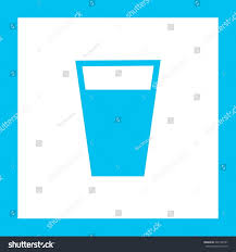 glass water cup liquid fluid sign stock vector 540168187