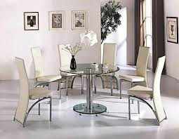 dining table dining table set 4 seater glass top round sets wood