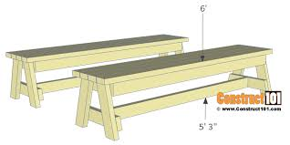 step 2 folding picnic table folding picnic table plans easy to build projects construct101
