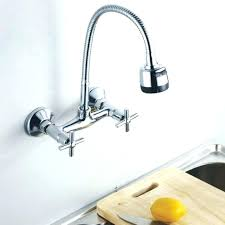 Wall Mount Kitchen Faucet Wall Mounted Kitchen Faucet Hpianco