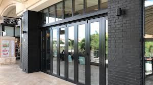 impact glass entry doors bi fold hurricane doors bi fold high impact doors siw impact