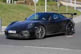 porsche gtr 3 porsche 911 gt3 rs facelift spied ahead of 2018 release auto express