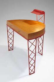 jean royere yo yo table bureau croisillons en métal laqué d origine par jean