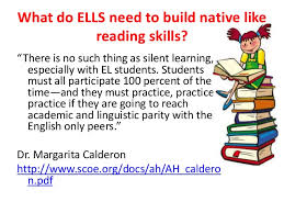 Be Like Bill The Comprehensible - making reading comprehensible for ells