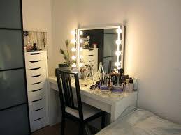 bedroom makeup vanity with lights ikea best ideas on vintage