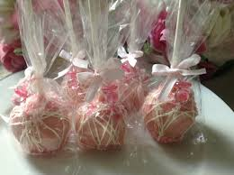 pink cake pops pink wedding cake pops pink party favors first