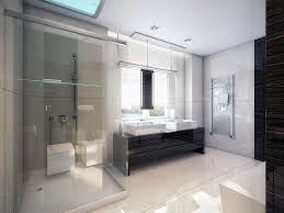 Clear Bathtub Bathroom Clear Glass Wall Shower With White Bathtub Modern