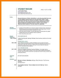 resume template for first job resume templates teenager how to
