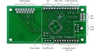 technoblogy tiny lisp computer 2 pcb