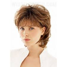 haircut for wispy hair short shaggy curly wispy bang haircut synthetic hair capless wig
