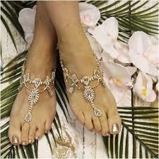 barefoot sandals for wedding tiara wedding barefoot sandals gold foot jewelry