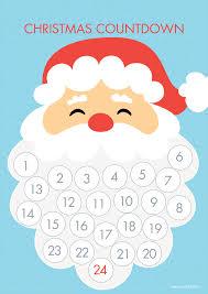 countdown to christmas santa beard play and go