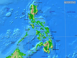 Map Of Phillipines Philippines Physical Map A Learning Family