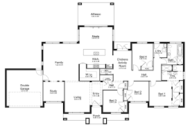level floorplan by kurmond homes new home builders sydney nsw