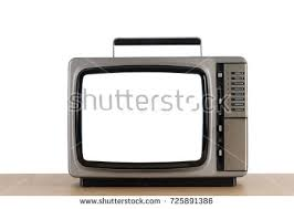 Screen Toaster Old Television Cut Out Screen On Stock Photo 727223449 Shutterstock