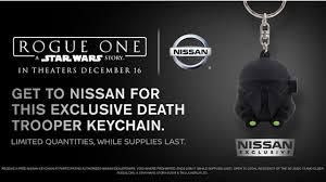 nissan rogue star wars edition nissan star wars key chain motor1 com photos