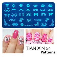 wholesale stamping nail art steel konad plates stamp manicure