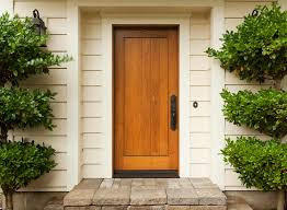 choosing the best coating for an exterior wood door